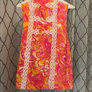 Worn once size 0 lilly pulitzer dress